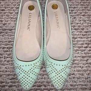 Shoes - Mint flats